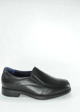 Zapato copete hombre negro ancho especial de Tolino
