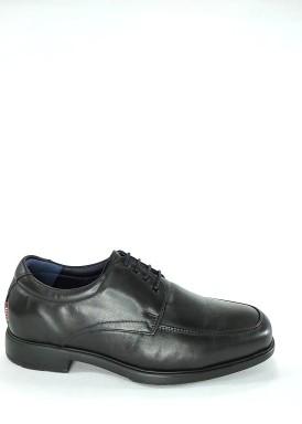 Zapato hombre cordón oficios ancho especial negro de Tolino