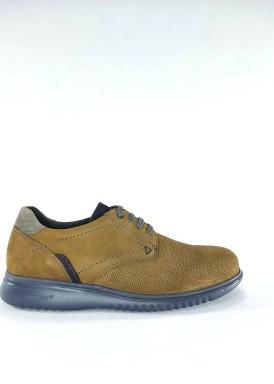 Zapato cordón nobuck verde oliva de Explorer Team