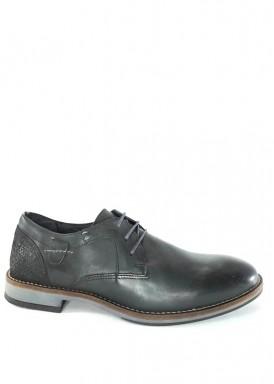 Zapato vestir cordón negro  estilo casual . Nokap