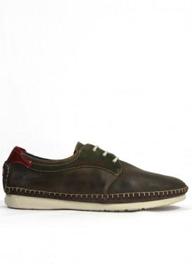 Zapato de piel suave efecto guante. Especial confort. Piso ligero. FLUCHOS