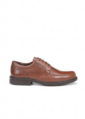Zapato cordón vestir marrón claro Fluchos