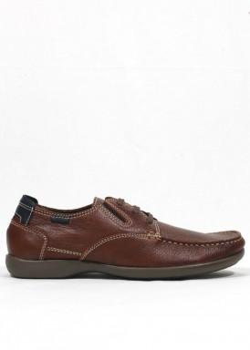 Zapato cordón básico y elásticos. Tagore