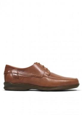 Zapato cordón básico cuero. Tagore