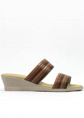 Sandalia descalza cuero. Fap