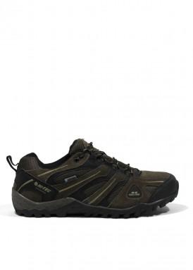 Zapato deportivo trekking de hombre marrón. Hi-tec.